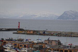 ブロートンが日本初上陸地の虻田港